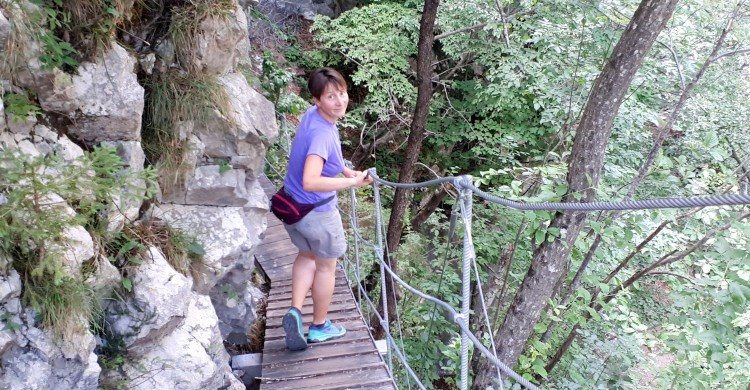 Escape the Heat and Have an Adventure in the Dovžan Gorge!