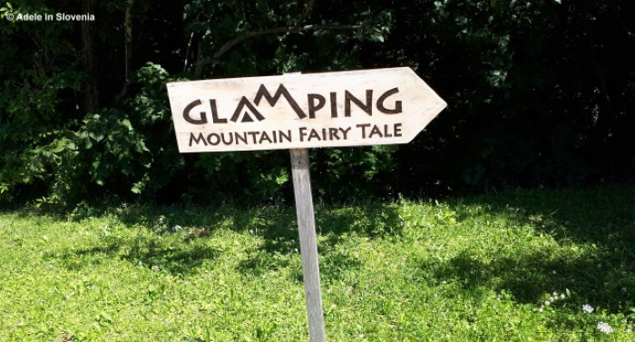 Signs for Glamping Mountain Fairytale