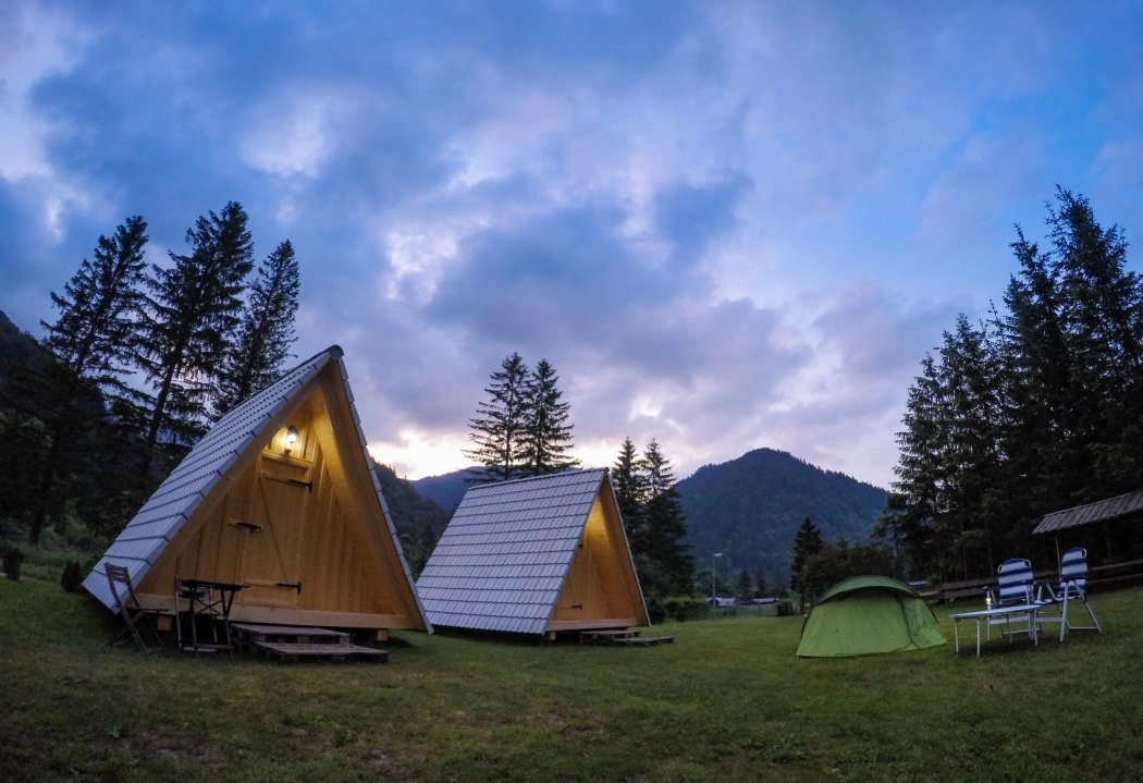 Camping Sommerküche : Camp podljubelj visit tržič