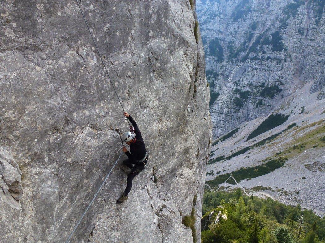 Klettersteig Eitweg : Gesicherter klettersteig am spodnji plot visit tržič