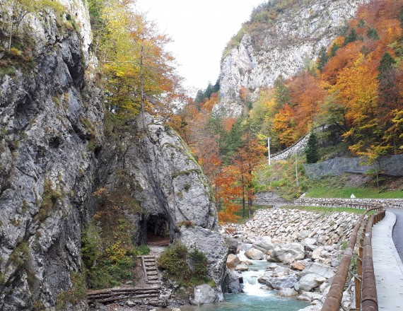 The Dovžan Gorge