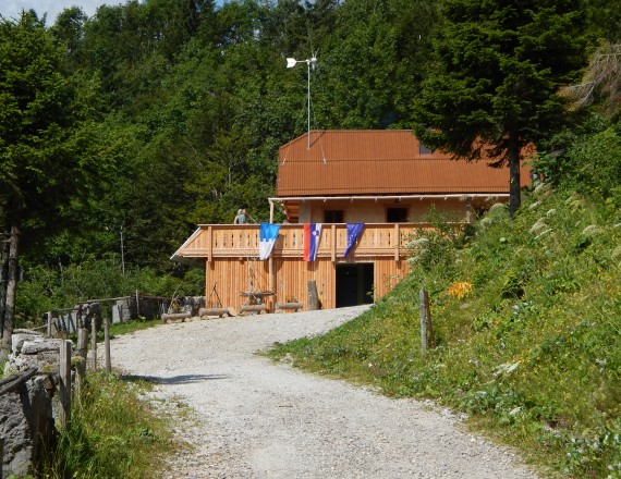 Ljubelj Mountain Hut