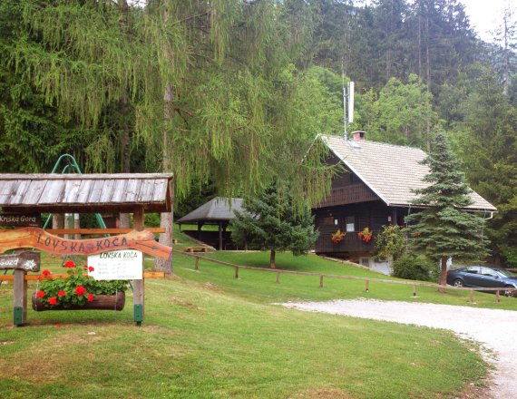 Vetrno Hunting Lodge, snack bar