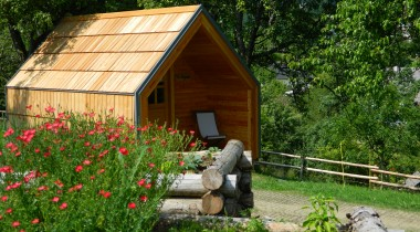 Glamping at Šlibar Organic Farm