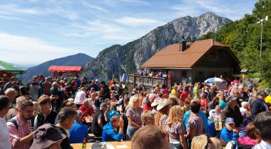 Dance Without Borders at Ljubelj Pass