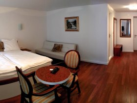Well-appointed and spacious rooms