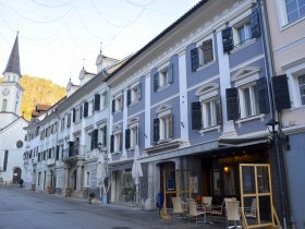 Brodar B&B is located in the heart of Tržič, on the town's main street.