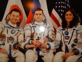 Members of Expedition 33. Sunita was the commander.