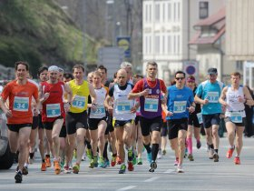 The run along the streets of Tržič attracts more competitors every year.
