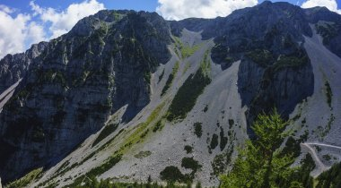 Zelenica protected climbing route
